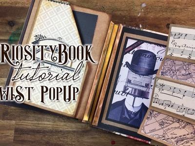 Tutorial Twist Pop Pup - Curiosity Book - 2 de 4