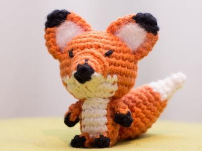 Amigurumi | como hacer un zorro en crochet | Bibiana Mejia Crochet 2017