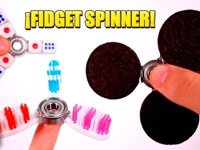 Cómo hacer 7 Fidget Spinner caseros