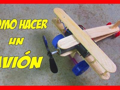 Como Hacer Un Avión De Madera - How to make a plane