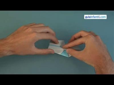 Cómo hacer un cisne de papel Origami