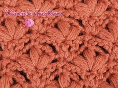 CROCHET: Puntada de ramitos (Sprig Stitch)