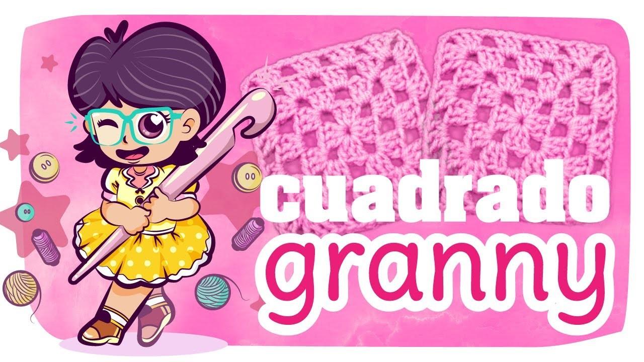 Cuadrado Granny - TUTO Crochet #11