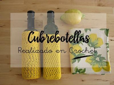 Cubre botellas tejido a crochet   By Cousiñas