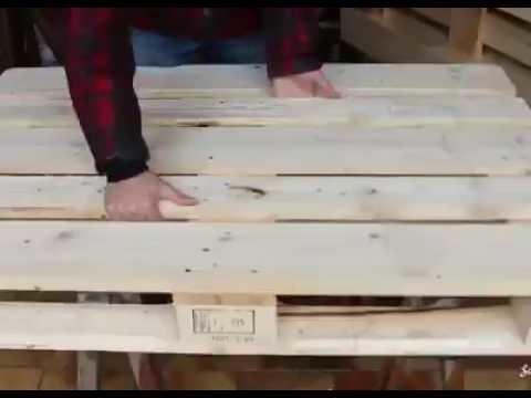 DIY--Cama de paletes para criancas