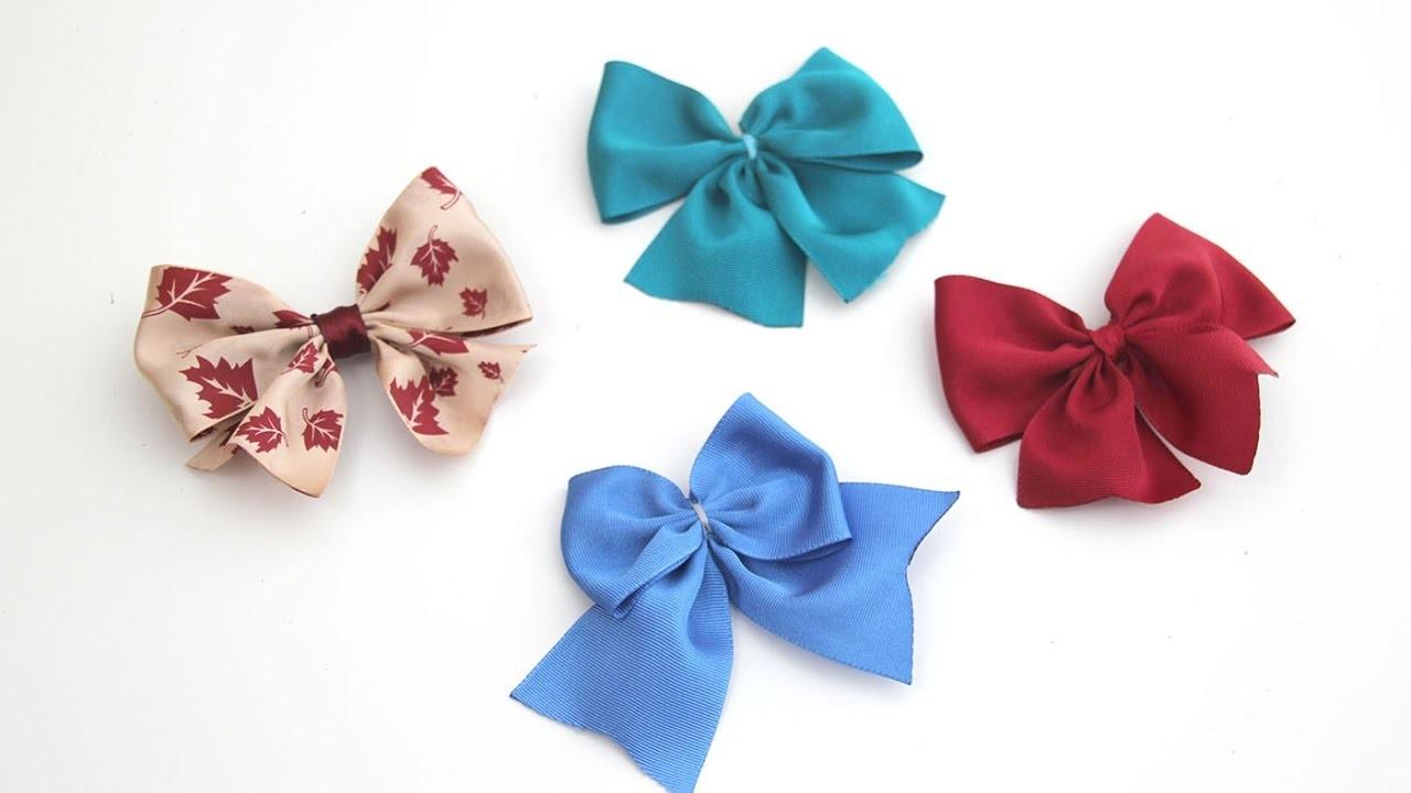 DIY Como hacer lazos bonitos para niñas