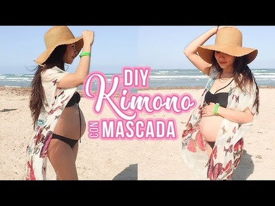 DIY Convertir Mascada en Kimono Tutorial - Mama Kish