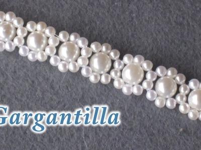 # DIY - Gagantilla, collar, o pulsera de perlas