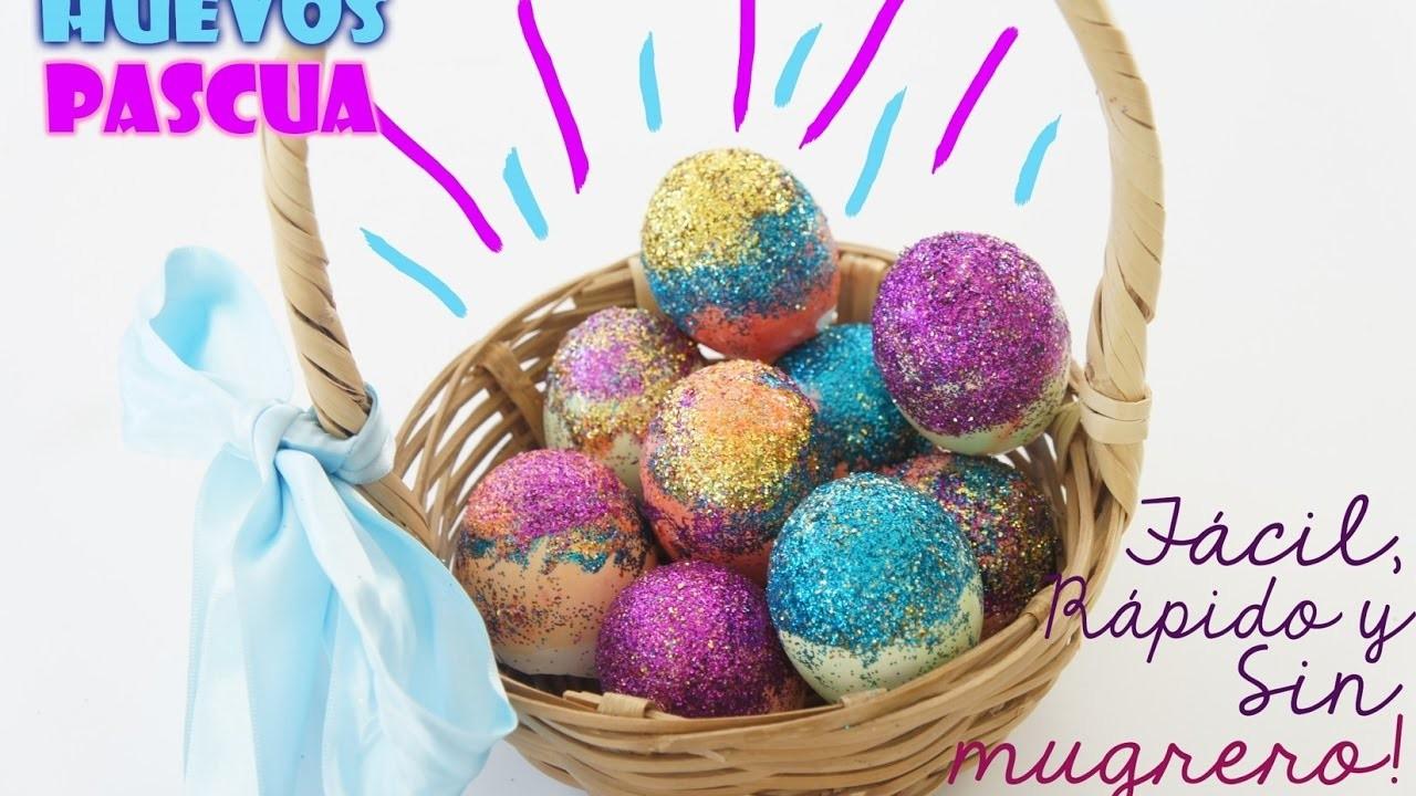 DIY | Huevos de Pascua - Decoración Fácil y Rápida.