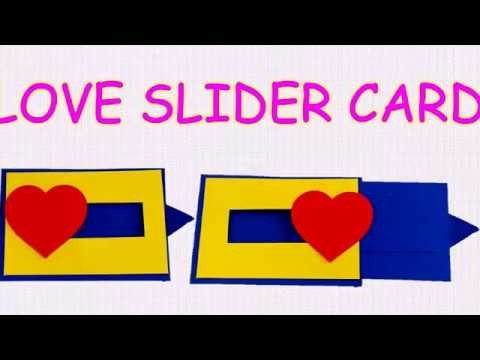 DIY-LOVE SLIDER CARD-TUTORIAL