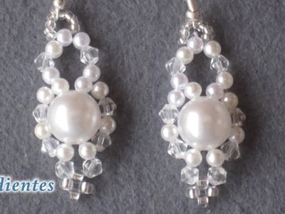 # DIY - Pendientes de novia # DIY - Bridal Earrings