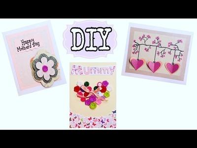 DIY Tarjetas para el Día de la Madre usando tarjetas viejas