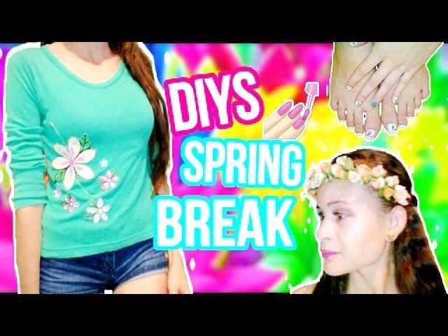 DIYS FOR SPRING BREAK.♥ CORONA DE FLORES♥. *-Esmee