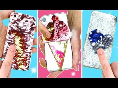 Fundas para celular  MAGICAS que cambian de color | Ideas FACILES DIY