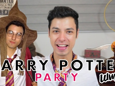 Harry Potter Theme Party (DIY). Alan Cajaroja