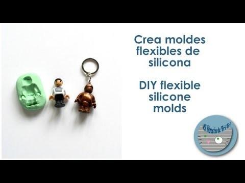 Haz moldes flexibles de silicona - DIY silicone flexible molds