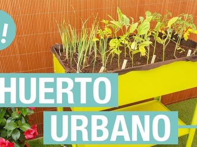 Huerto urbano para la terraza· Handfie DIY