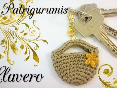 Llavero  a Crochet!! Key chain  (English subtitles) (FÁCIL)