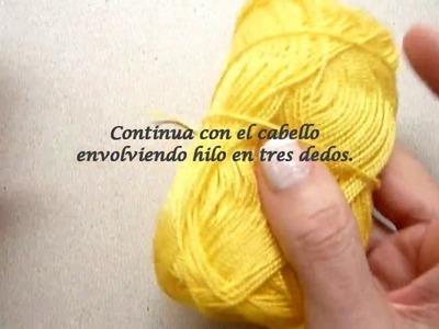 Manualidades: COMO tejer BOLSO para NIÑA a CROCHET fácil ( Casimiritos) DIY