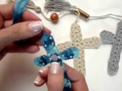 Manualidades: SOUVENIR de Primera Comunión.Crochet DIY Sor Amparo Arredondo R.