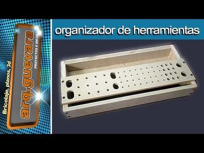 Organizador de herramientas - Tool organizer