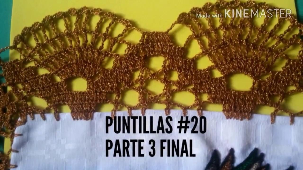 Orilla #20 tejida a crochet (parte 3 de 3)
