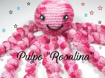 Paso a paso crochet: Cómo tejer tierno pulpo para bebé fácil y rápido ❤ Mi Rincón del Tejido
