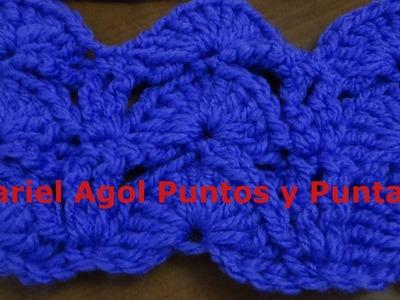 Puntada a crochet muy fácil. Muestra No. 140
