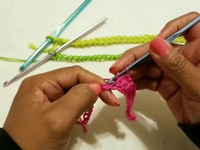 Que es una lazada en crochet y como hacerla corectamente (crochet para principiantes )