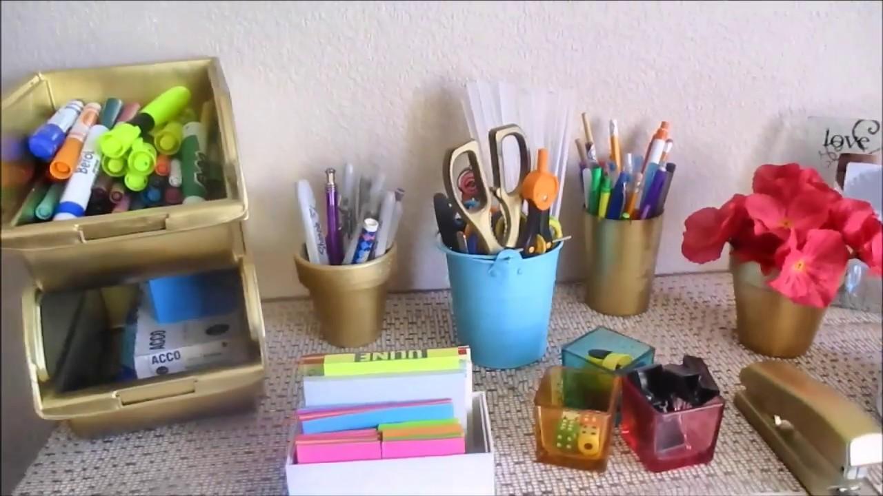 Renovar, reciclar y reutilizar en tonos dorados DIY *Andy Llaya*
