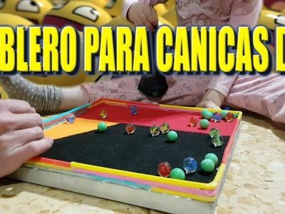 TABLERO PARA CANICAS CASERO (FAST DIY)