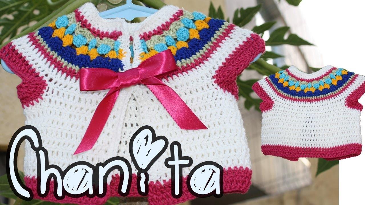 Teje Chambrita Chanita a Crochet