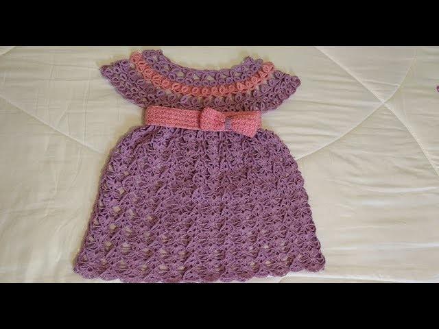 Tejido a crochet blusa o vestido #1