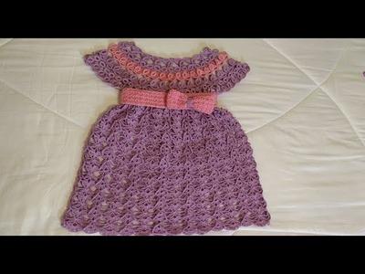 Tejido a crochet blusa o vestido #3