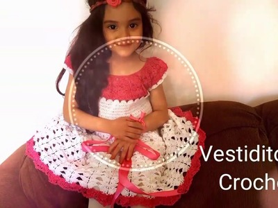????Vestidito para Niñas en Crochet(ganchillo)a la Talla Deseada ????Parte#1