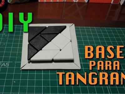 DIY. Base para TANGRAM