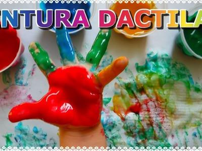 DIY PINTURA DACTILAR. MANUALIDADES PARA NIÑOS | KEILANDER ART