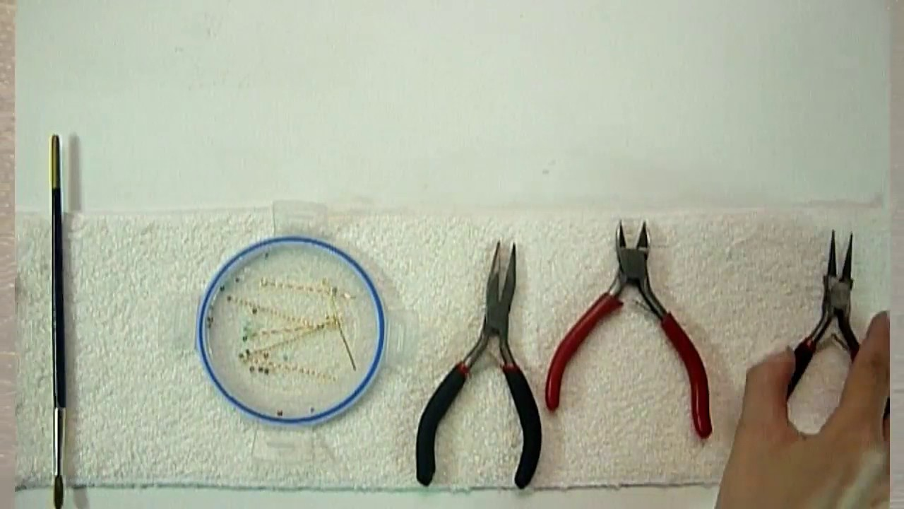 Manualidades: Como hacer GANCHO para PENDIENTES o ARETES (Pescador).Bisutería DIY