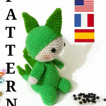 modele amigurumi, billy, le dragon