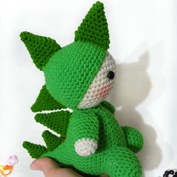 muster amigurumi billy der drache pdf Deutsch