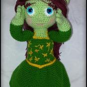 muster amigurumi Prinzessin Fiona (Shrek) pdf Deutsch