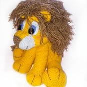 modele amigurumi jack, le lion. pdf francais french