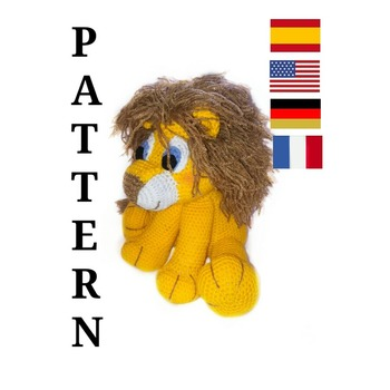pattern amigurumi jack, the lion. pdf english
