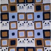 pattern baby blanket kittens pdf english by ternura amigurumi