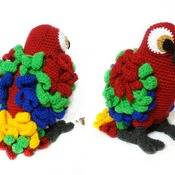 pattern ciro the parrot pdf english by ternura amigurumi