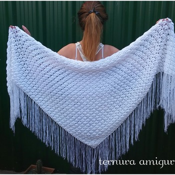 pattern triangular shawl pdf english