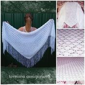 pattern triangular shawl pdf english